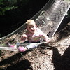 Shyanne loved swinging in the hammock