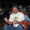 Lane enjoying his smores!