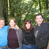 Lane, Renee, me and Jeff  stopped to take a picture along our walk around the campground